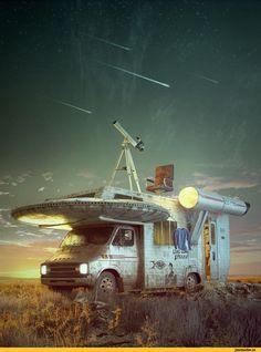 Sci-Fi,art,арт,красивые картинки,Lukas Walzer