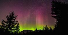 Auroras boreales desde Washington, Estados Unidos – El Universo Hoy