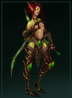 Korrinth by YourImaginaryTwin on DeviantArt Warcraft Characters, Fantasy Characters, Female Characters, Fantasy Women, Dark Fantasy, Fantasy Art, Dh Wow, Fantasy Character Design, Character Art