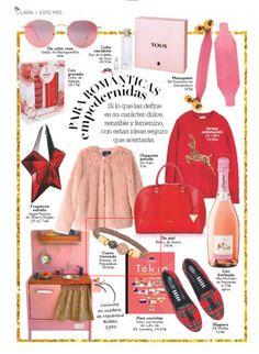 Para románticas empedernidas nosotras : )en la revista CLARA. #moda #modamujer #prensa #joyas #bisuteria #pippajeans #pippaandjeans #revista #periodico #tv