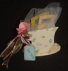 Lynn's Craft Blog: Tea Time Party Favor