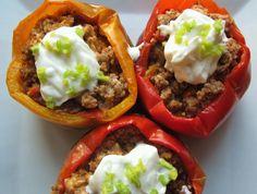 Creative+Fall+Cooking+Recipes | crock pot peppers overhead best 1024x774 Crock Pot Stuffed Peppers ...