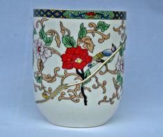 Glass Kintsugi, bowl kintsukuroi de KanelaSuri en Etsy Kintsugi, Planter Pots, Etsy Shop, Mugs, Tableware, Glass, Shopping, Hand Made, Dinnerware