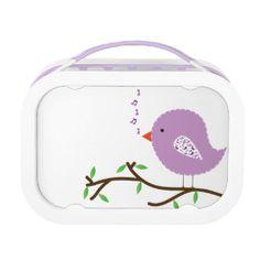 Purple Baby Bird Yubo Lunchboxes