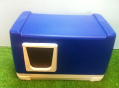 Outdoor Cat House Cat Pod by stabob on Etsy, $99.00