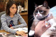Aubrey Plaza - Grumpy Cat's Worst Christmas Ever