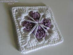 My Crochet , Mis Tejidos: Happy Sunday !...Flowers and Granny - Feliz Domingo de Flores y Granny