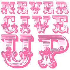 ...never, ever.... <3