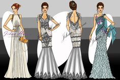 gaun pesta malam modern - http://jihanhusna.com 0821.4284.5152