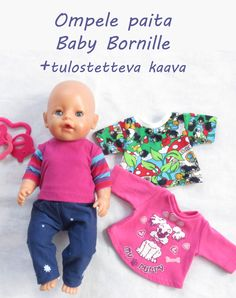 Baby Born Clothes, Disney Animator Doll, Sewing Dolls, Rainbow Loom, Barbie Clothes, Free Pattern, Inspiration, Diy, Fashion