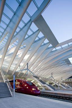 Gare de Liège-Guillemins, Santiago Calatrava, 2009 | GARE LIEGE-