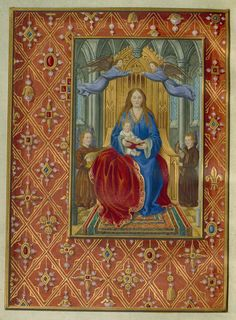 1505 Book Of Hours Use Of Rome Facsimile