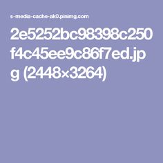 2e5252bc98398c250f4c45ee9c86f7ed.jpg (2448×3264)