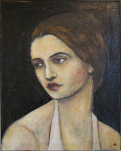 Head Of A Woman | Jane Spakowsky (DesRosier)
