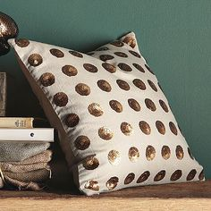 Bijoux-Dots Pillow Cover from West Elm