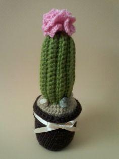 Cactus crochet Gracias!!!! a tod@s por los parones gratuitos Esperanza Rosas♥