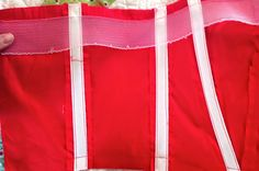 Gertie's New Blog for Better Sewing: Shaping a Neckline with Horsehair Braid