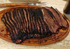 Get Ready for the Best Texas Brisket Recipe Online! Are you ready for the seriously awesome Butcher Paper BBQ Brisket Method? Best Smoked Brisket Recipe, Beef Brisket Recipes, Bbq Brisket, Smoked Beef Brisket, Smoked Meat Recipes, Pulled Pork Recipes, Baked Brisket, Jerkey Recipes, Barbecue Ribs
