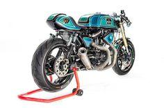 Harley Davidson Cafe Racer #motorcycles #motos #caferacer | caferacerpasion.com