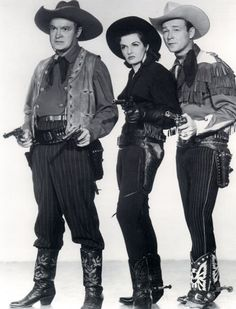 Bob Hope, Jane Russell, Roy Rogers in Son of Paleface