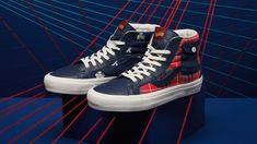 High Top Vans, High Tops, High Top Sneakers, Tartan, Puma Platform, Vans Sk8, Shoes, Fashion, Loafers & Slip Ons