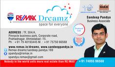Sandeep Pandya Visiting Card
