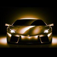 Gorgeous Gold Lamborghini Aventador