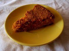 Torta di carote senza glutine e lattosio