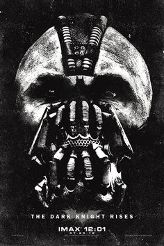 "Special poster of ""The Dark Knight Rises"" for midnight IMAX audiences"