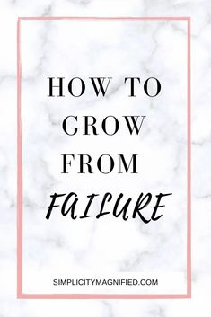 Have you allowed a recent failure to keep you down? SAME! It's time we learn how to grow from our failure. Fun Facts About Yourself, Finding Yourself, Titus 2 Woman, Asking For Prayers, Learning Patience, Near To You, Stressed Out, Proverbs 31
