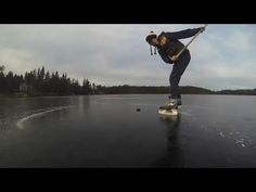 Skating with pals out in the Whiteshell. Fresh ice, no snow, three sticks and a GoPro. Golden Gate Bridge, Gopro, Skating, Sticks, Hockey, Canada, Outdoors, Videos, Nature