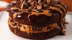 Peanut Butter Cookie Dough Cake