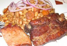 Burgundi babos oldalas Sausage, Paleo, Pork, Food And Drink, Meat, Kale Stir Fry, Beef, Sausages, Pork Chops