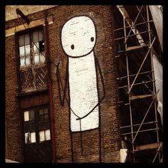 Street art. London.
