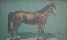 Louis St. Lewis - Horse 4x6