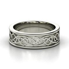 Sterling Silver Wedding Rings,Silver Wedding Bands,Silver Wedding ...