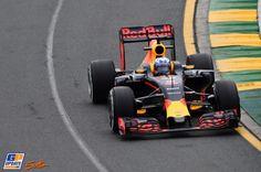 Daniel Ricciardo, Red Bull, Formule 1 Grand Prix van Australië 2016