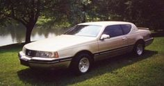 1989 mercury Cougar ( the one Lisa accused me of faking an auto emergency.) Whatevs!
