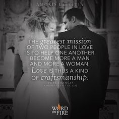 Can We Cana? A Community to Support Catholic Marriages: Don't Let Controversy Smear the Gems of Pope Franc. Catholic Marriage, Catholic Quotes, Catholic Prayers, Religious Quotes, Roman Catholic, Catholic Beliefs, Catholic Crafts, Catholic Wedding, Christian Marriage