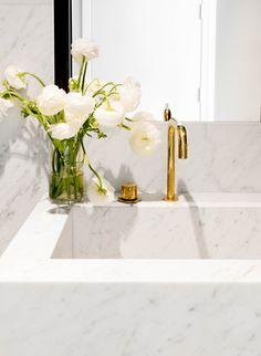 Sculptural Marble Sink by Tamara Magel | Photo by Rikki Snyder