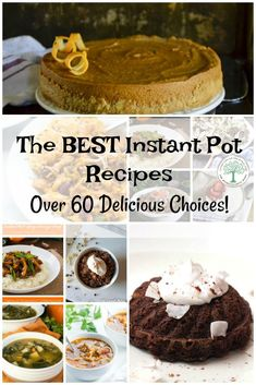 Need some meal time inspiration? How about over 60 of the best instant pot recipes to help you use your Instant Pot? Enjoy! The Homesteading Hippy via @homesteadhippy