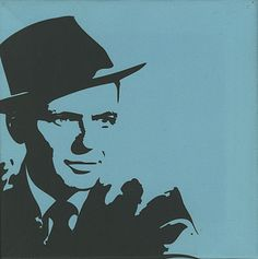 Frank Sinatra Pop-Art Canvas Print UK MEMORABILIA (378463)
