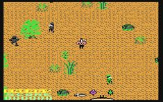 Αποτέλεσμα εικόνας για rambo game commodore