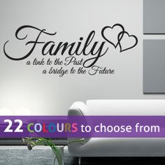 FAMILY a link to the Past a bridge to the future by LinaGifts, £8.35