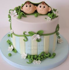 2 peas in a pod - Cake by Shereen