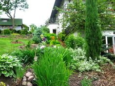 lots of sloped garden pictures.