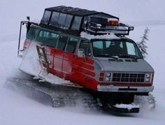 Snowcat Van Conversion