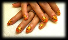 Sunflowers robin moses inspired by MelissaThun - Nail Art Gallery