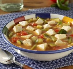 Vegetable soups, Tofu and Vegetables on Pinterest