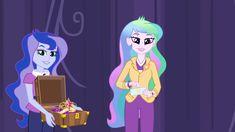My Little Pony Friendship is Magic  Princess Celestia and Princess Luna Equestria Girls Movie